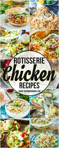 The BEST Rotisserie Chicken Recipes- What to do with Leftover Rotisserie Chicken