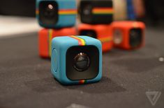 Polaroid unveils an adorable, tiny cube camera for action shots | The Verge. I can't wait to get one of these!