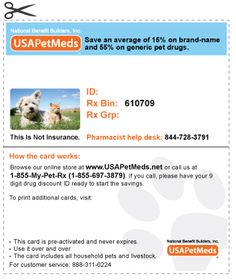 save more with prescription discount card for pets mail to the best prescription discount card pinterest veterinary care - Best Prescription Discount Card