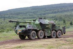 152 mm ShkH DANA vz.77 Self-Propelled Howitzer (Czech Republic)