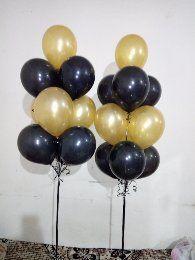 10 Helium Balloons Bouquet Helium Gas, Helium Balloons, Balloon Bouquet, Chrome, Chandelier, Ceiling Lights, Candelabra, Chandeliers, Outdoor Ceiling Lights