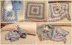Baby bunny blanket. Hand Made By Craftypaulaa.