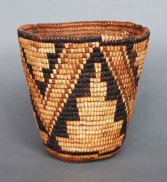 Quintana Galleries: Historic Baskets: Klickitat