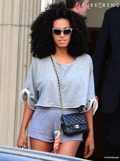 solange knowles | Solange Knowles sort de chez Beyoncé à New York. - Photos