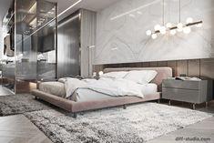 Contemporary house in Paris. Master bedroom Contemporary house in Paris. Master Bedroom Interior, Luxury Bedroom Design, Modern Master Bedroom, Master Bedroom Design, Minimalist Bedroom, Contemporary Bedroom, Home Bedroom, Interior Design, Bedroom Designs
