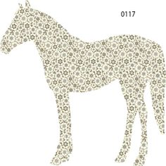 horse wall decals in awesome prints.