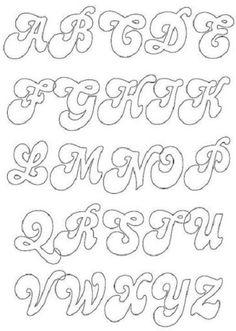 Appliqué letters