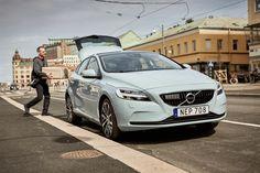 Niet baanbrekend: online aankopen in twee uur afgeleverd in geparkeerde Volvo