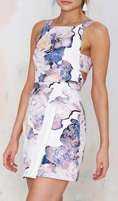 Young Spirit Cutout Dress