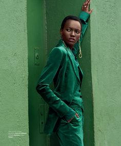 Herieth Paul photographed by Caleb & Gladys for Harper's Bazaar Serbia October 2017 Stylist: Davian lain Hair: Anike Rabiu Makeup: Victor Noble Fashion Photography Inspiration, Editorial Photography, Fashion Inspiration, Monochrome Photography, Glamour Photography, Lifestyle Photography, Photography Tips, Nature Photography, Green Fashion