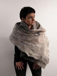gray felting. majoffe.blogspot.com. majoffe facebook