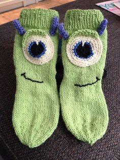 Matias Pallopää sukat (Monsterit Oy).