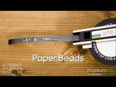 Let's Try Making Paper Beads Learning Activities, Activities For Kids, Old Candles, Junk Mail, Lets Try, Paper Folding, Heart For Kids, Paper Beads, Recycling