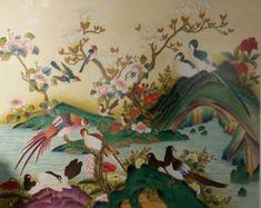 제6회 대한민국 전통채색화 공모대전 입상작과 특별 초대작가전 : 네이버 블로그 Korean Painting, Folk, Birds, Embroidery, Paintings, Needlepoint, Popular, Paint, Painting Art