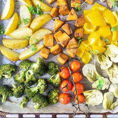 ARKI-ILLAN PELASTUS: UUNITOFU-KASVISPELTI I Love Food, Tofu, Carrots, Vegan Recipes, Baking, Vegetables, Desserts, Drinks, Red Peppers