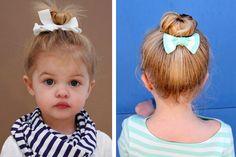 12 peinados adorables y rápidos para niña 5