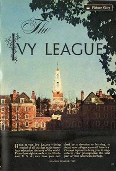 Main/Ivy League For Everyone - Television Tropes & Idioms