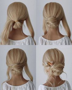 simple step by step hair tutorial for bridal 2020 - Hey-Cinderella, ., simple step by step hair tutorial for bridal 2020 - Hey-Cinderella, There is not any issue with flipping as a result of a spring season curly hair. Medium Hair Styles, Curly Hair Styles, Hair Medium, Medium Hair Updo Easy, Updos For Medium Length Hair Tutorial, Hair Tutorials For Medium Hair, Bridal Hair Tutorial, Chignon Tutorial, Bridesmaid Hair Tutorial