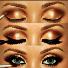 Learn it! This makeup is drop dead gorgeous. She must have men trippen with them eyes.
