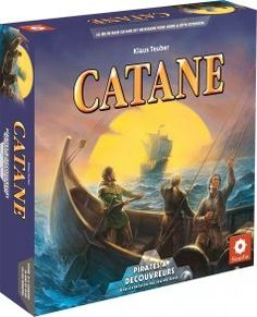 Boutique jeux de société - Pontivy - morbihan - ludis factory - Catane pirate et découveurs