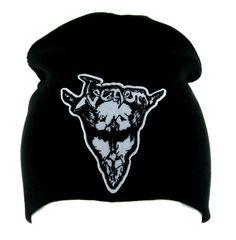 Venom Black Metal Beanie Alternative Clothing Knit Cap Heavy Music  #horror #patch #deathrock #hat #anime