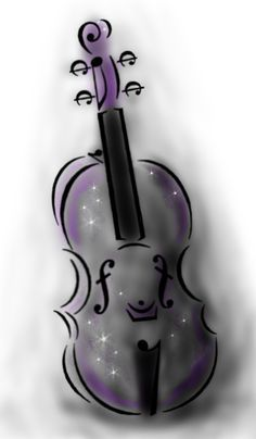 Violin Tattoo...but without color