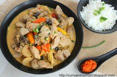 Curry and Comfort: Thai Pork in Chili and Coconut Sauce