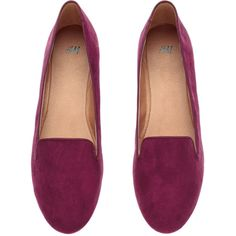 H&M Loafers (€11) ❤ liked on Polyvore featuring shoes, loafers, flats, sapatos, zapatos, flat pump shoes, flat heel shoes, loafer shoes, flat pumps and h&m shoes