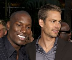 UNIVERSAL CITY, CA - JUNE 3:  Actors Tyrese (L) and Paul Walker attend the world premiere of the film '2 Fast 2 Furious' on June 3, 2003 at Universal Studios, Hollywood. (Photo by Vince Bucci/Getty Images) via @AOL_Lifestyle Read more: https://www.aol.com/article/2016/06/03/paul-walkers-daughter-meadow-shares-a-rare-photo-and-looks-s/21389269/?a_dgi=aolshare_pinterest#fullscreen