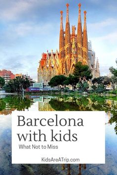 If you are planning a family trip to Spain, be sure a stop in Barcelona is on the list. With stunning architecture, delicious food, and glorious beaches, Barcelona with kids does not disappoint. - Kids Are A Trip |Barcelona travel| Spain travel| Barcelona Spain| Spain with kids| Barcelona travel guide| Barcelona travel tips