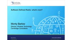 Software Defined Radio - What next?