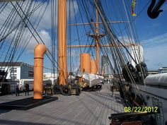 HMS Warrior 1860. Portsmouth Historic Dockyard.