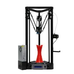 Anycubic® Kossel Upgraded Pulley Version 3D Printer With Auto-Leveling Dual Cooling Fans 180mm*300mm Printing Size 1.75mm 0.4mm Nozzle