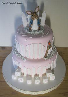 Peter Rabbit Beatrix Potter Cake - by RachelManningCakes @ CakesDecor.com - cake decorating website