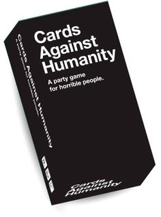 124784  11-1-F Cards Against Humanity Kortspill US ed. Den originale USA versjonen