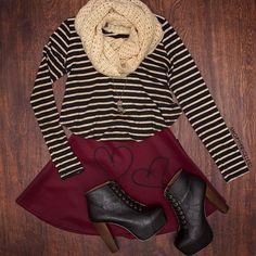 #RestockAlert! ✨ Our Heartbreaker Skater Skirt is #BackInStock!  Limited quantity available! #ShopPriceless  www.ShopPriceless.com