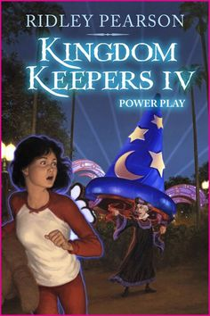 Kingdom Keepers 4: Power Play  Oh. My. Goodness. This one is just as good if not better than the first book. There is NEVER a dull moment here, and Pearson keeps you on the edge of your seat the entire time. I loved what he did with the characters and, well... EVERYTHING! :D Seven Keepers out of Seven!