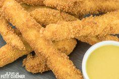 Comment faire les fingers de poulet (chicken fingers). Recette facile. L'un des classiques de la finger food americaine. Idéal pour un apéritif dinatoire