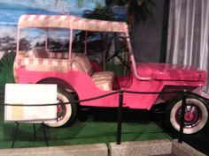 Pink jeep from Blue Hawaii