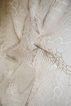ann sun woo | the memory of skin | paper sculpture