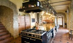 Cooking Classes Tuscany -  Torre Del Tartufo.  Professional kitchen for Italian Cooking Classes.