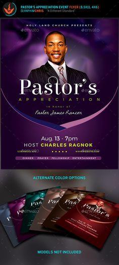 Pastor anniversary free brochure program pastor anniversary lavender pastors appreciation church flyer altavistaventures Gallery