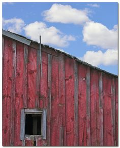 I love old barns.