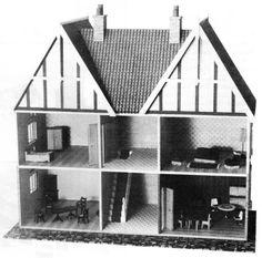 Edwardian dolls house plans
