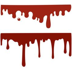 Silhouette Design Store: bloody drips