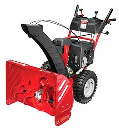 Troy-Bilt Storm 2890 277cc 4-cycle Electric Start Two-Stage Snow Thrower > Clears large snowy walkways up to 28 inches wide and 21 inches deep in one pass The extremely powerful 277cc 4-cycle OHV electric start engine provides total control and force in the toughest conditions Equipped with a Remote Overhead Crank 200 degree polymer chute for displacing snow with ease Check more at…