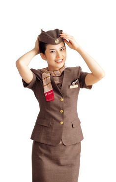 Asiana Airlines: #airline #aviation #cabincrew #stewardess #uniform #design #fasion