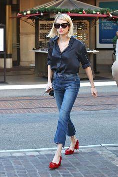 Emma Roberts Street Style