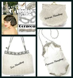 At a touch of Retro to your wedding day look with bridal jewelry, hair accessory or a great Retro Inspired Wedding Handbag.  http://www.modelbride.com/Bridal-Purses-Prodlist.html