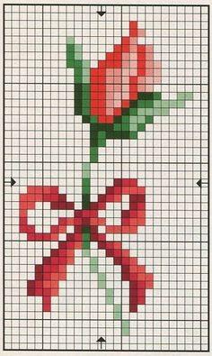 cross stitch or bead loom